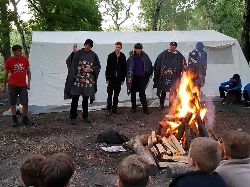 1st Baldwyns Park Group Camp